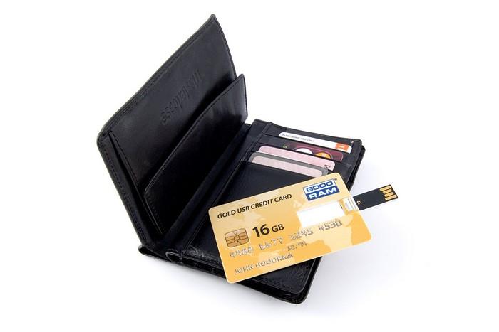 GOODRAM USB Credit Card – карточка памяти размером с кредитную карточку