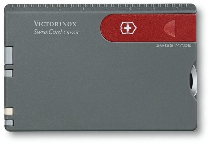SwissCard – швейцарский нож размером с кредитную карточку