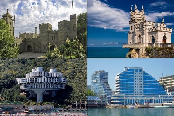 Архитектурные достопримечательности Крыма