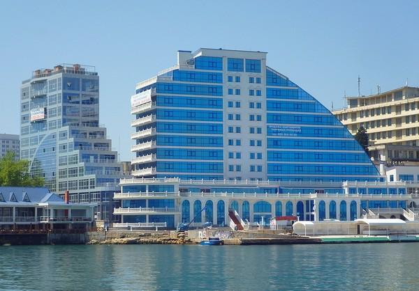 Комплекс Crystall Beach Resort. Источник фото: skyscrapercity.com