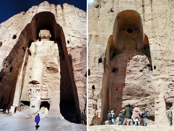 Бамианские статуи в Афганистане. Источник фото: viewtheworld.net
