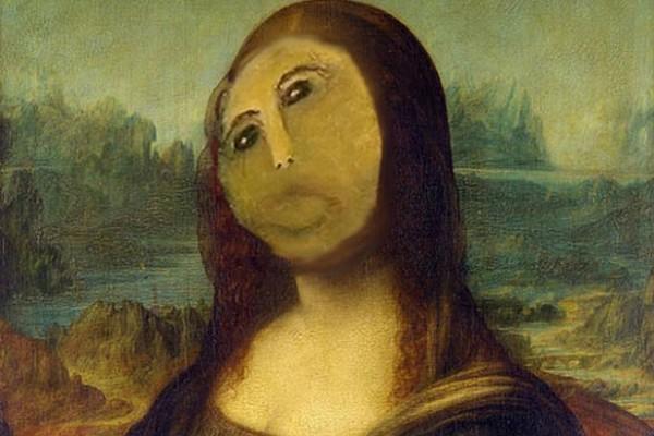Мона Лиза в стиле Пушистого Христа. Источник фото: animalpolitico.com
