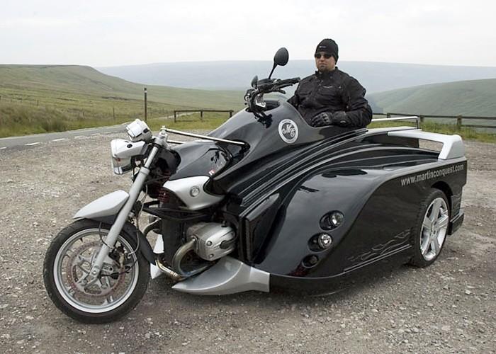 Martin Conquest – мотоцикл для байкеров-инвалидов