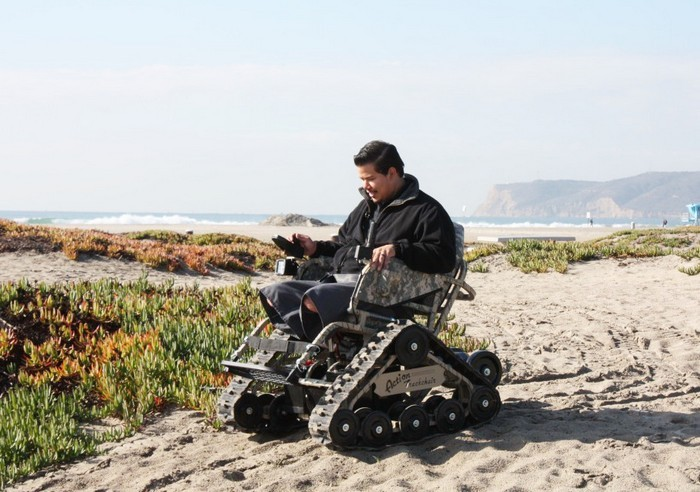 Action Trackchair – инвалидное кресло для жителей деревни