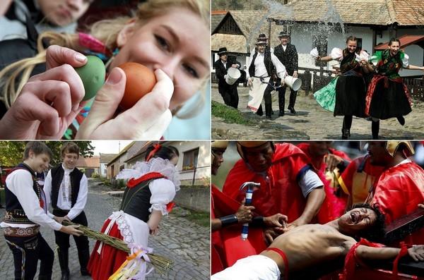 Необычные пасхальные традиции со всего мира