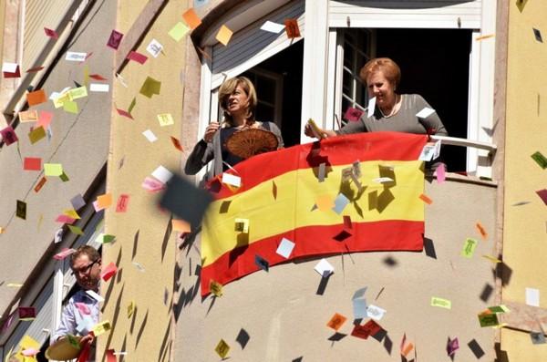Алиллуи во время пасхального парада в городе Эльче в Испании. Источник фото: europe-today.ru