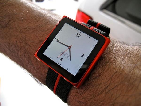 iPod Nano: часы, основанные на аудиоплеере