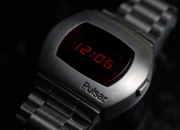 Seiko Pulsar: первые цифровые часы