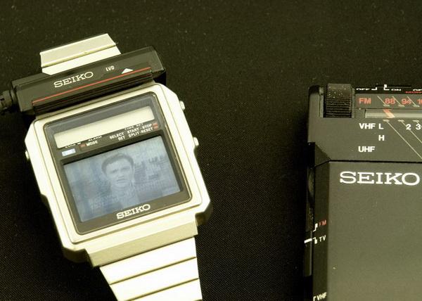 Seiko TV Watch: первые часы с телевизором