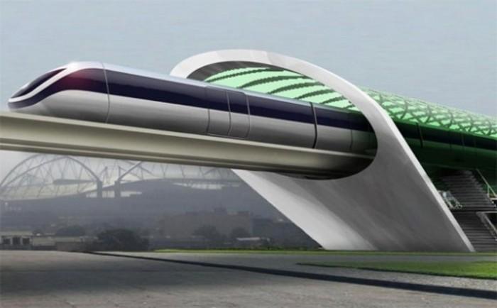 Скоростная транспортная система Hyperloop