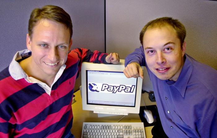 Основатели компании PayPal
