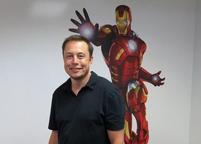Илон Маск - реальный прототип Железного Человека