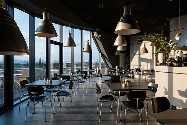 Кафе на верхнем уровне Energy Bunker. Источник фото: iba-hamburg