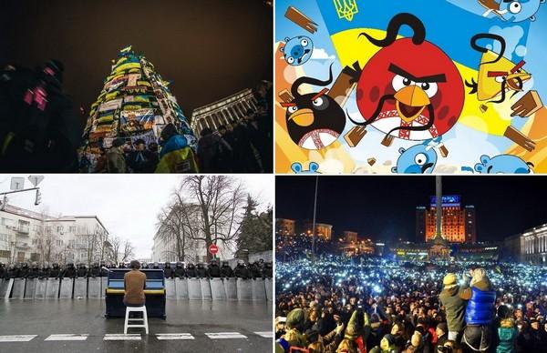 Разноликий креатив киевского Евромайдана
