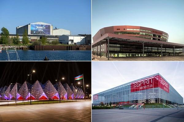 Концертные залы песенного конкурса Евровидение