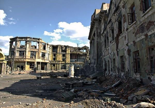 Съемочная площадка фильма Сталинград. Источник фото: meteo.livejournal.com