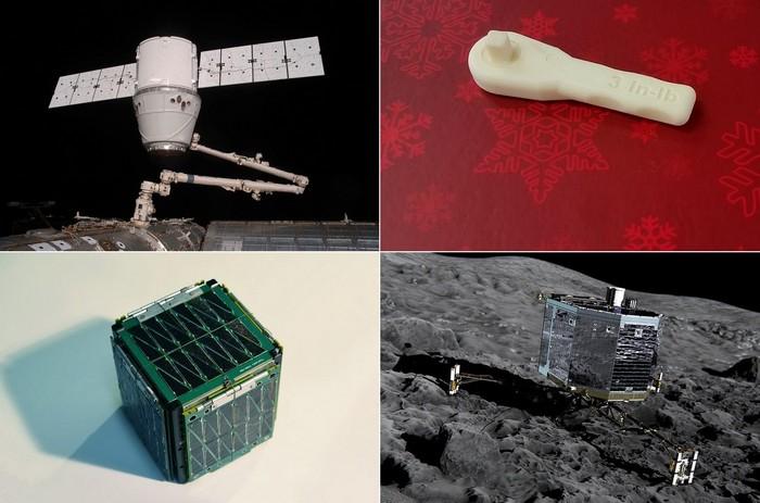 Оригинальные достижения в Космосе за 2014 год