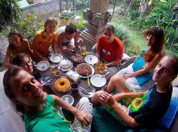 Русские обитатели на Бали