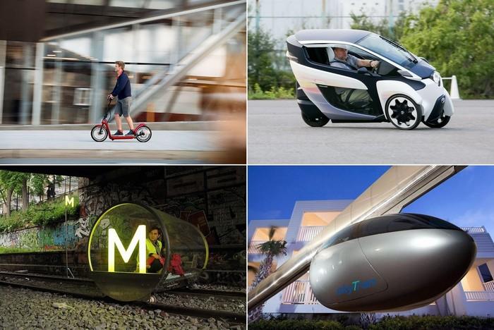 Городской пассажирский транспорт будущего