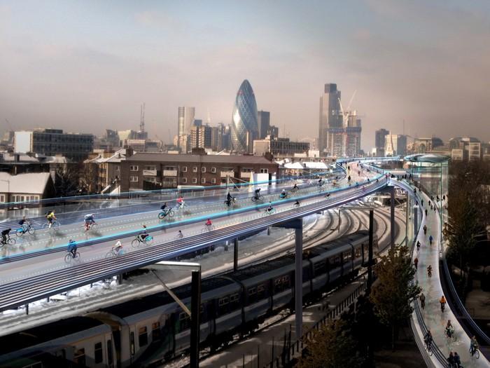 SkyCycle – велоэстакады через весь Лондон