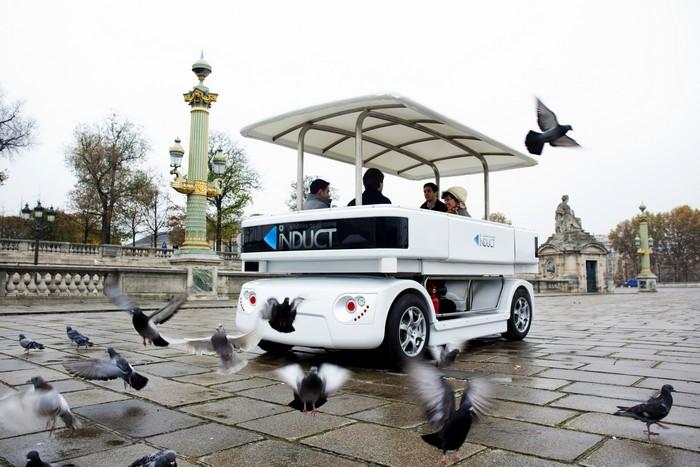 Navia – беспилотные автобусы-такси в Сингапуре