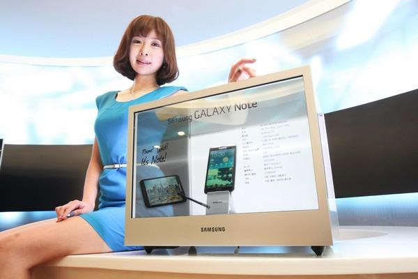 Прозрачный монитор от Samsung
