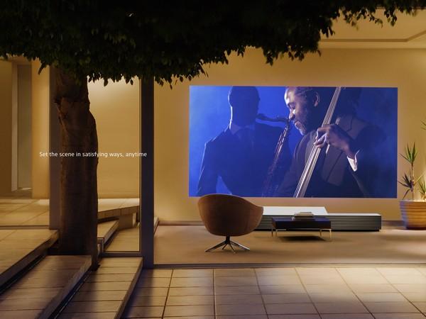 Sony Life Space UX – гигантский монитор без монитора
