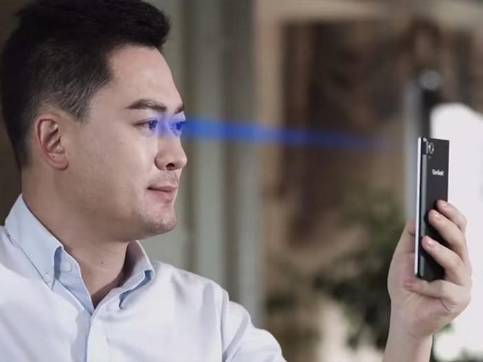 Смартфон ViewSonic V55 со сканером рисунка на сетчатке глаза
