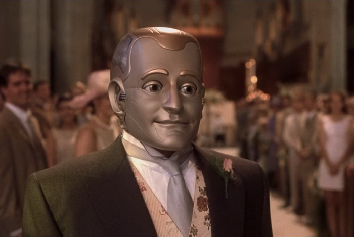 Робот-андроид - персонаж фильма Двухсотлетний человек
