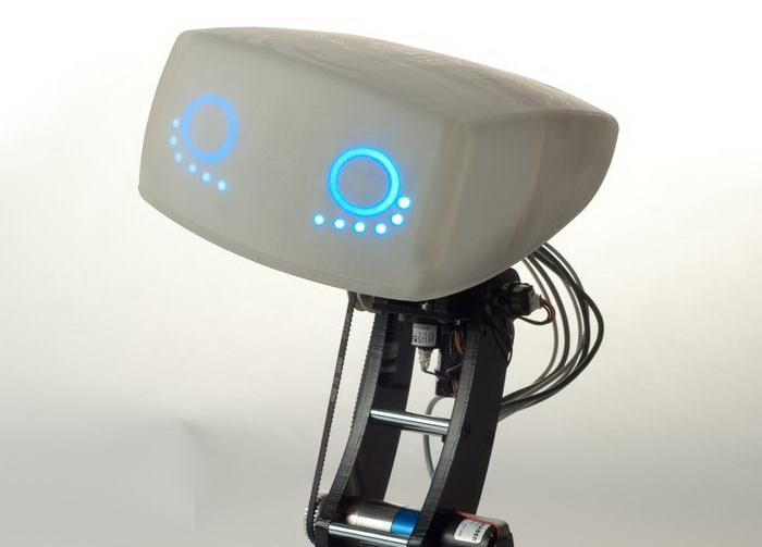 Робот AIDA, который умеет копировать человеческие эмоции