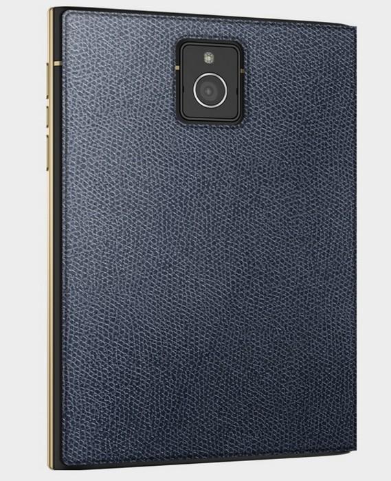 Золотой смартфон Blackberry Passport для стильных бизнес-леди
