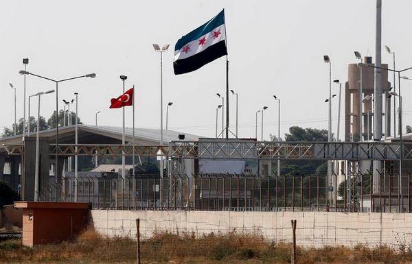 Стена между Турцией и Сирией
