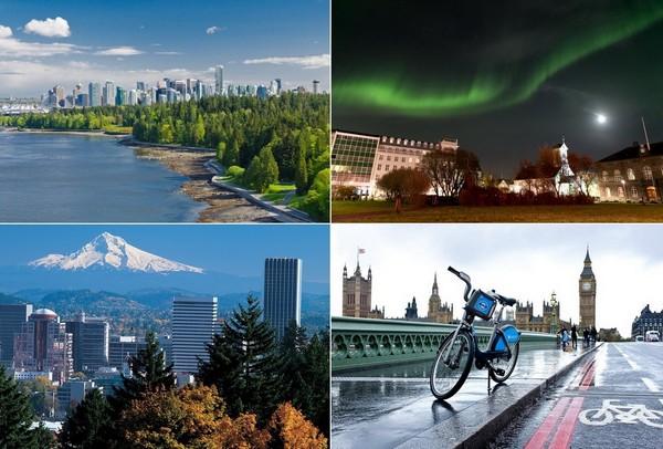 Самые зеленые города мира