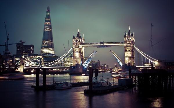 В центральной части Лондона