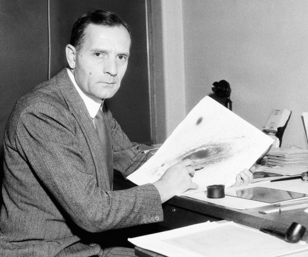 Американский астроном Эдвин Хаббл