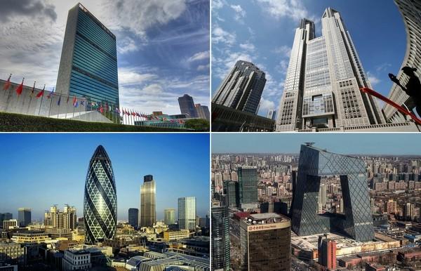 10 штаб-квартир крупных компаний и организаций от звезд мировой архитектуры