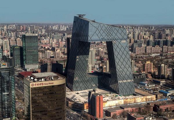 Штаб-квартира CCTV. Пекин. Рем Колхас