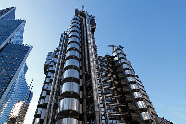 Башня Ллойда. Лондон. Ричард Роджерс