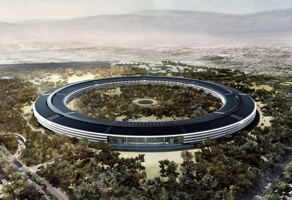Штаб-квартира Apple. Купертино. Норман Фостер