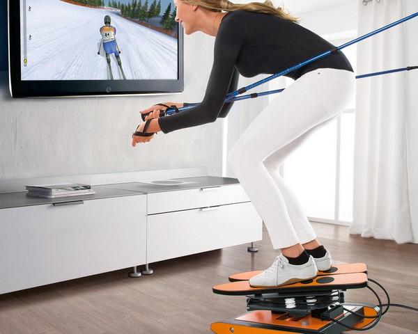 SKIGYM – домашний симулятор лыжного спорта
