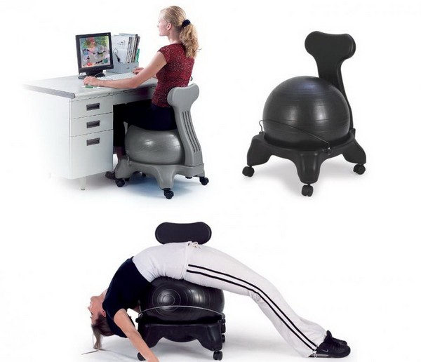 Fitball – офисное кресло для хорошей осанки