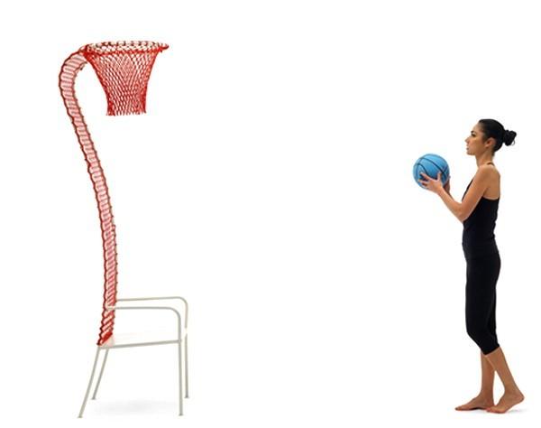 Lazy Basketball chair – стул для игры в баскетбол