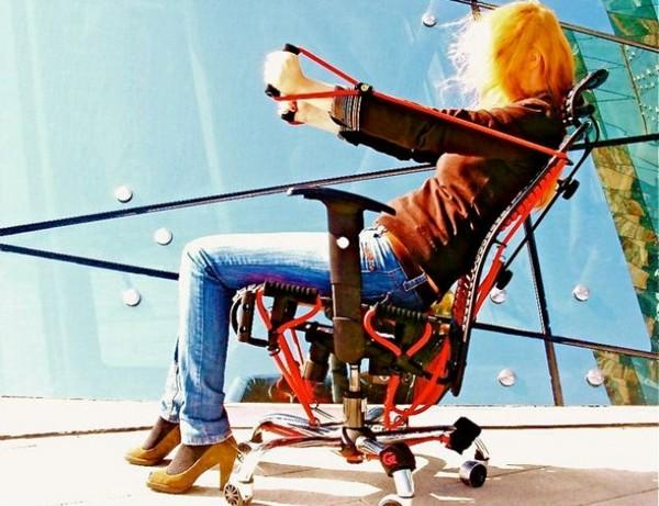 GymyGym – офисное кресло-тренажер