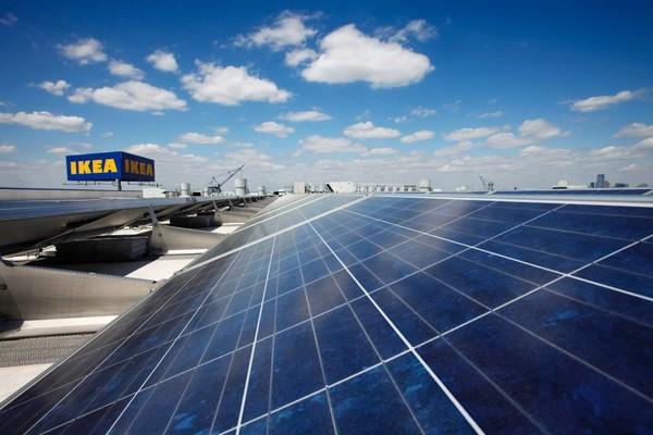 Солнечные панели от IKEA