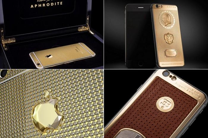 Самые необычные варианты тюнинга смартфона iPhone 6