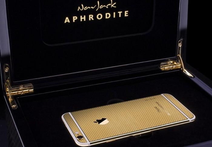 Золотой iPhone 6 от китайской компании NavJack