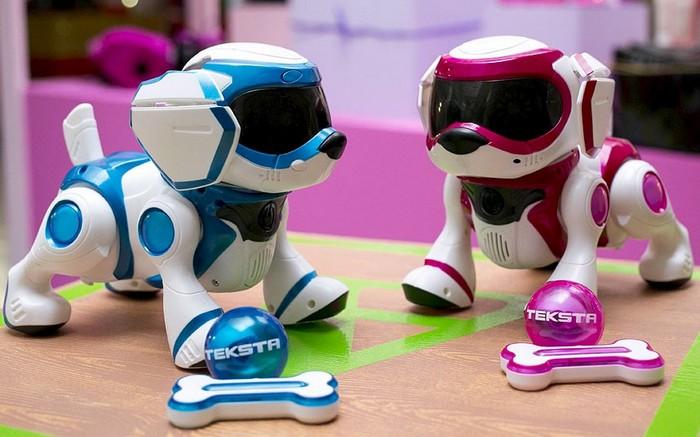 Игрушечный робот-собака Teksta