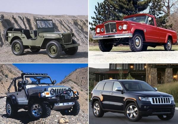 Самые легендарные автомобили Jeep