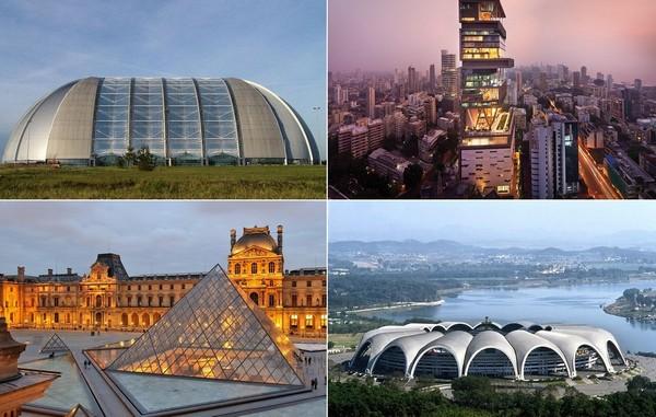 Самые большие в мире здания