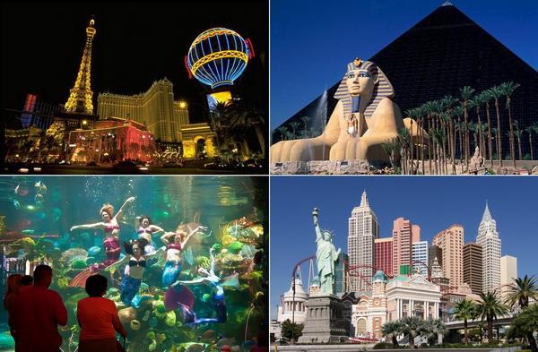 Самые необычные и известные отели Лас-Вегаса